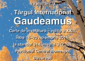 Comunicare.ro la Gaudeamus