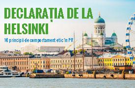 Declarația de la Helsinki  10 principii de comportament etic în PR