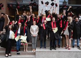Ceremoniile de absolvire ale masteratelor FCRP, promoṭiile 2016-2018