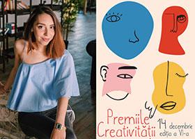 Oana Oprea, nominalizată la Premiile Creativității ARCUB – UNATC 2018