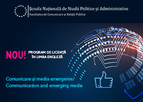FCRP lansează o nouă specializare:  Communication and Emerging Media
