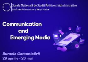 Bursele Comunicării pentru studenții specializării Communication and Emerging Media