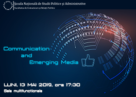 Eveniment de lansare Communication and Emerging Media | Luni, 13 mai
