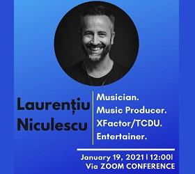 CEMtalks - Laurențiu Niculescu, marți 19.01, ora 12:00, via ZOOM