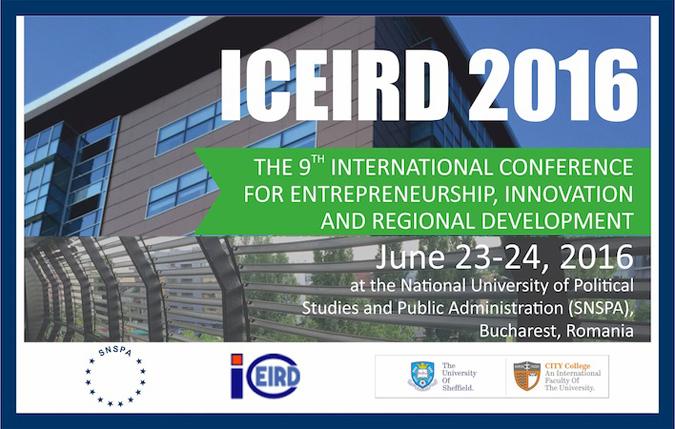 Conferință ICEIRD 2016